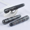 Natural Crinoid Jasper Wand Massage Wand for Acupuncture Therapy Stick