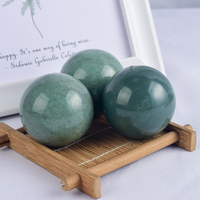 Natural Green Aventurine Crystal Ball Sphere