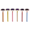 Single-end Amethyst Roller and Skin Gym Face Facial Roller for Face Massager Tool