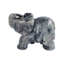 1.5 Inch Hand Carved Labradorite Stone Elephant Crystal Animal Figurines
