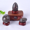 Undrilled Crinoid Jasper Yoni Eggs Massage Jade egg to Train Pelvic Muscles Kegel Exercise