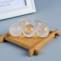 Natural Rock Quartz Crystal Ball Sphere