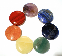 100% Natural Mixed 7 Colors Gemstone Chakra Stones Set